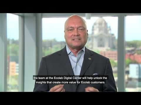 Hear from Ecolab Leaders on the vision for Ecolab Digital Center powered by SMC2